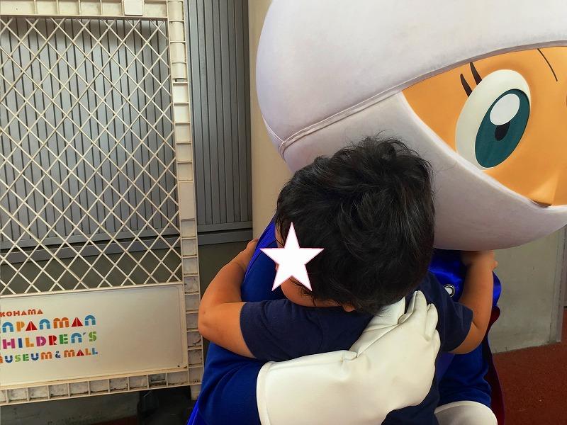 横浜アンパンマンミュージアムのロールパンナ