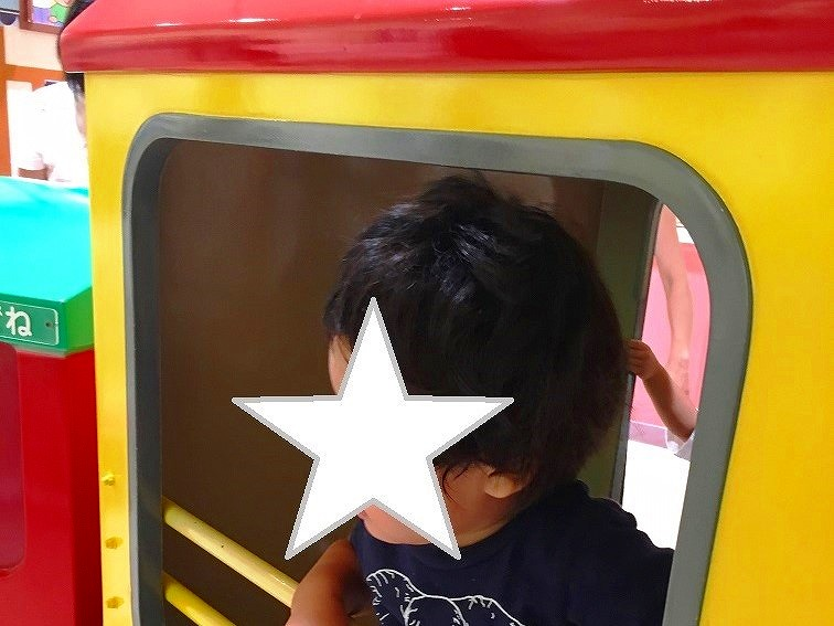 横浜アンパンマンミュージアムのSLマン