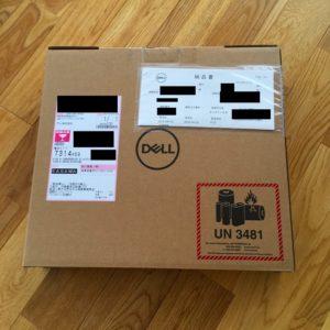 Dell Inspiron 14の梱包