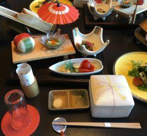 蓬莱屋旅館の夕食