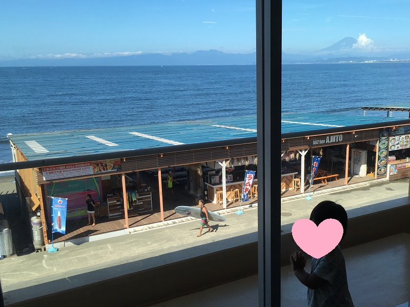 えのすいから見える富士山